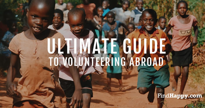 Guide to volunteering abroad image